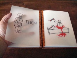 Then... The Gentleman, handbound Buffy journal