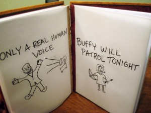 Hush, a Buffy journal